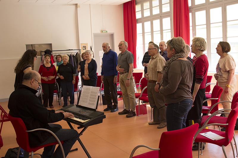 Chorale maison pour tous for Danse classique maison pour tous montpellier